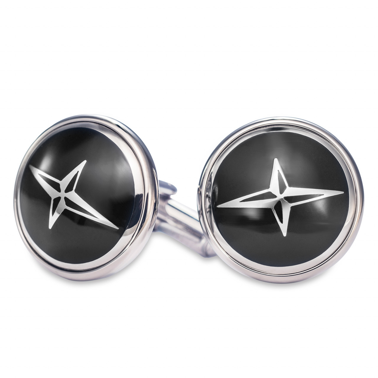 Cuff links black