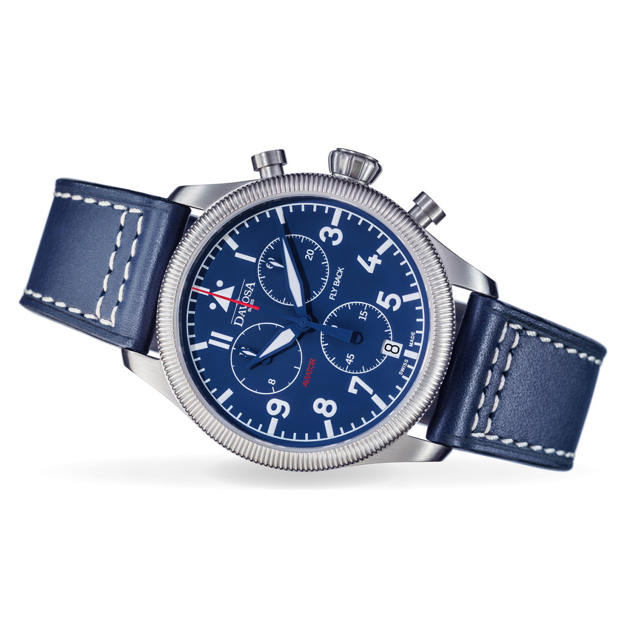 Aviator Flyback Chronograph blue