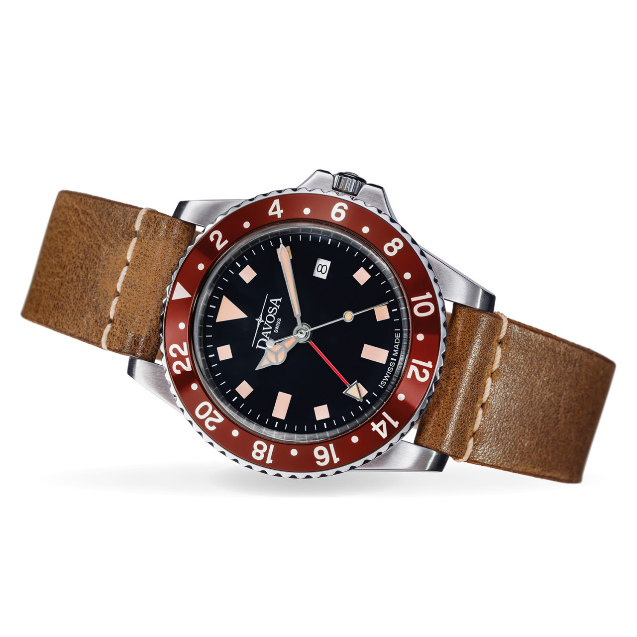Vintage Diver red-brown