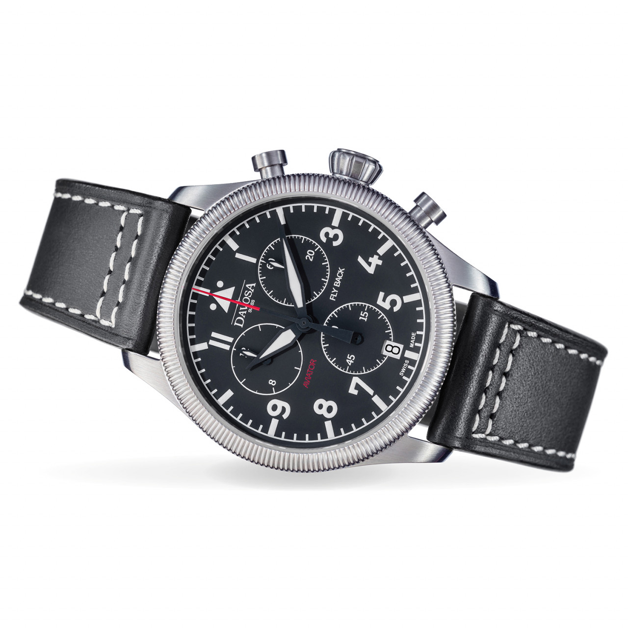 Aviator Flyback Chronograph black